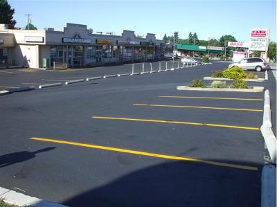 asphalt resurfacing edmonton picture of parking lot