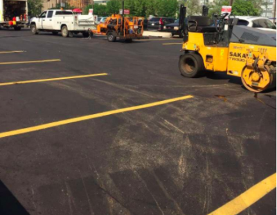 parking lot paving - asphalt black top parking lot edmonton