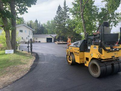 parking overlay residential - centerline paving