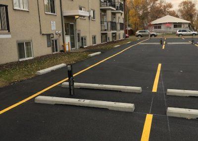 asphalt paving edmonton - commercial parking lot