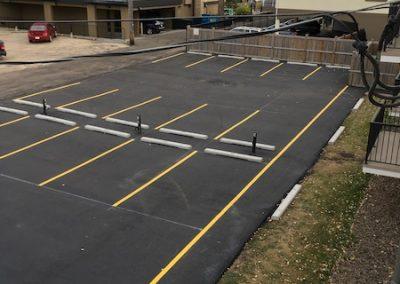 commercial parking lot paving - edmonton