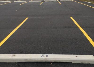 edmonton commercial asphalt paving - parking lot