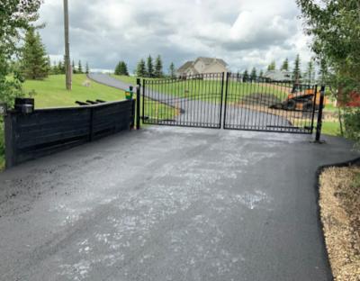 residential paving - centreline paving